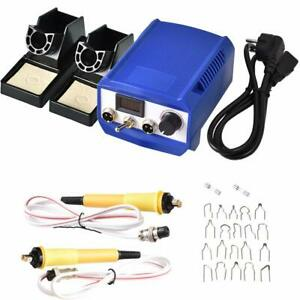 New Burning Painting Art Tools Electric Soldering Iron Pyrography Machine 60W