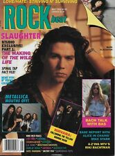 5/92 issue of ROCK BEAT magazine  SLAUGHTER cover  Nirvana  Nine Inch Nails