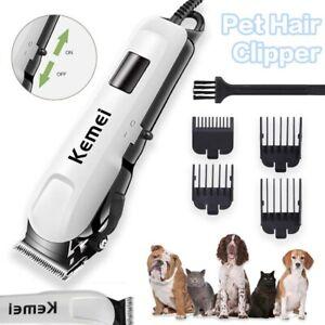 Haarschneidemaschine Tierhaarschneider Schermaschine Haustier  Für Katzen Hunde