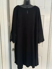 Phase Eight Party Cocktail Black Dress Size 26 New