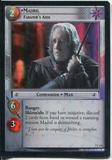Lord Of The Rings Foil CCG Card RotK 7.U110 Madril, Faramir's Aide