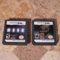 Nintendo DS 3DS LOT ✨MOON + CORE✨ USA Authentic FPS Shooters *VERY RARE* C.O.R.E