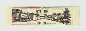 UK- Ravenglass & Eskdale R'way Letter  100years 1876-1976 MNH