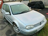 VOLKSWAGEN GOLF V6 4 MOTION 2.8 3DR SPARES OR REPAIRS