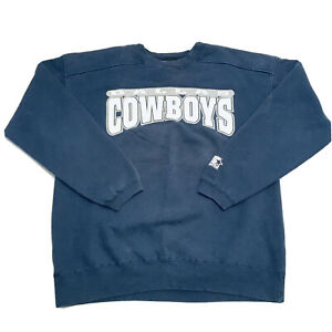 Vintage 90's Starter Dallas Cowboys NFL Graphic Sweater Size L