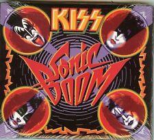 KISS - SONIC BOOM - 2 CD + 1 DVD -  NEW