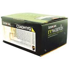 Lexmark Yellow Return Program Toner Cartridge High Capacity C540H1YG [IB08348]