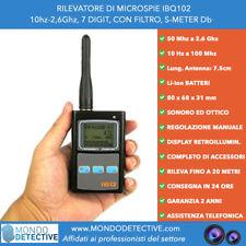 Rilevatore di microspie IBQ102 digitale cimici spycam bonifiche ambientali spy