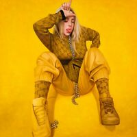 "Large 1 of 1 Billie Eilish Pop Art Oil Painting 39x39 - ""The Bad Guy"""