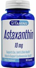 Astaxanthin 10mg - 180 Capsules - Best Value Max Strength We Like Vitamins
