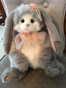 SNOOKUMS CHARLIE BEARS 2020 PLUSH BUNNY  * PAW STORE EXCLUSIVE NEW WITH TAGS
