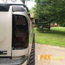 2007-2014 GMC Sierra 1500/1500HD/2500HD/3500HD LED Dark Smoked Tail Ligths