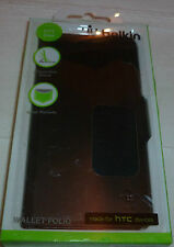 HTC One Belkin Wallet Folio PU Leather,stand and card holder(1st class p+p)