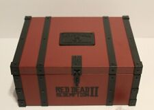 Red Dead Redemption Collectors Box Metal Tithing Box w/ Lock and Key Brand New