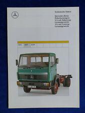 Mercedes-Benz LKW Pritschenwagen 1117 - Prospekt Brochure 11.1990