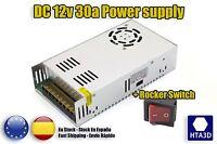 PS Power Supply DC 12v 33a 3d printer reprap fuente alimentación prusa p3steel