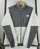 THE NORTH FACE DENALI Womens Size Medium Gray Polartec Fleece Jacket Coat $179