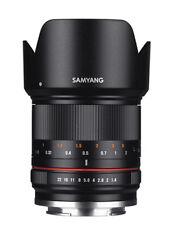 Samyang 21mm f/1.4 ED AS UMC CS Lens for Sony E - Black