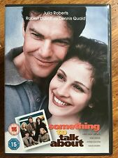 Julia Roberts Dennis Quaid SOMETHING TO TALK ABOUT ~ 1995 Romantic Comedy UK DVD