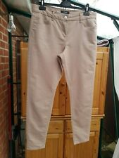Marks & Spencer Stone Jeggings, Low Rise, Stretchy, Size 14, VGC