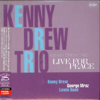 KENNY DREW TRIO-LIVE FOR PEACE-JAPAN MINI LP CD Ltd/Ed B50