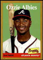 Ozzie Albies 2019 Topps Archives 5x7 Gold #17 /10 Braves