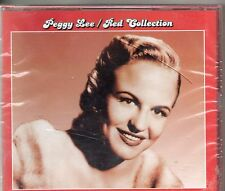 COFFRET 2CD  40TPEGGY  LEE   RED COLLECTION  DE 2007  NEUF SCELLE