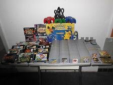 Nintendo 64 Pokemon Pikachu Edition Blau  129xSp.Raritäten