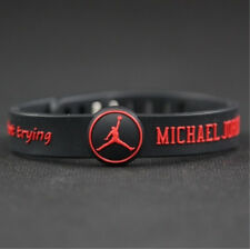 Basketball Star Bracelet adjustable Sports Silicone Wristband Michael Jordan
