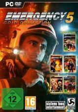 EMERGENCY 5 GOLD + Teil 3 + 4 + 2012 Deluxe + 2013 + 2014 Sehr Guter Zustand