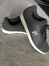 Fila Men's Trainers UK Size 9 Flat Grey And White