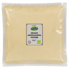 Organic Ashwagandha Powder 2kg Certified Organic