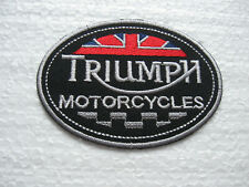 Aufnäher Patch Triumph Tuning  Racing Motorradsport Biker-MC FX GT Motorsport