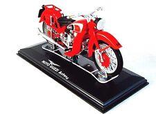 MOTO GUZZI ASTORE RED DIECAST EDICOLA 1/24 COLLECTOR'S MOTORCYCLE MODEL ,NEW