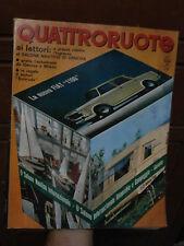 QUATTRORUOTE N° 122 1966 NSU PRINZ 1000 S BIZZARRINI 5300 GT STRADA FIAT 1100