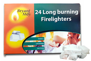 336 Fire Lighters 14 Pack LONG BURN Firelighter Bulk Hotspots Burners Bryant May