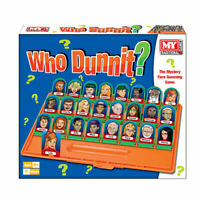 Guess Who Board Game - Who Dunnit Traditional Family Mystery Face Guessing game