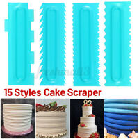 Pastry Icing Comb Set Spatulas Scraper Cake Cream Baking Decorating Tools DIY