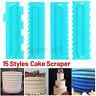Pastry Icing Comb Set Spatulas Scraper Cake Cream Baking Decorating Tools DIY