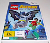 Lego Batman The Videogame Nintendo Wii PAL *Complete* Wii U Compatible