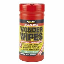 Everbuild Multi Purpose Wonder Wipes Hand Cleaners for Oil & Grease 100 tub