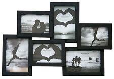 6 Multi Collage Cadre Photo-Noir