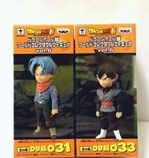 Dragon Ball Super World Collectable Figure WCF Vol.6 6 Trunks Goku Black 031 033