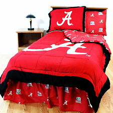 Alabama Crimson Tide Comforter & Sham Bedding Set Twin Size