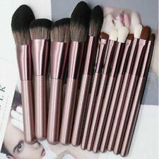 12Pcs Professional Make Up Brush Set Foundation Kabuki Makeup Brushes Purple UK