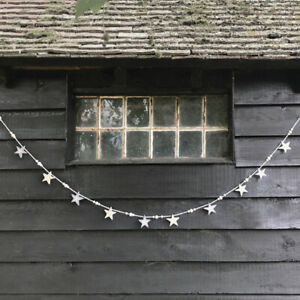 Wooden Star & Bead Garland by East of India