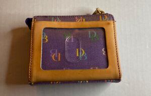 Dooney & Bourke Coin Purse Purple