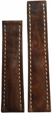 22x18 RIOS1931 for Panatime Aged Brn Vintage Watch Strap For Breitling Deply