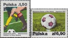 Poland 2557-2558 (complete.issue.) unmounted mint / never hinged 1978 Football-W