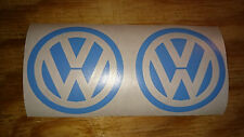 Dub Vw Volkswagen Beetle Golf Logo coche caravanas Adhesivo Pegatina Calcomanía 2x65m